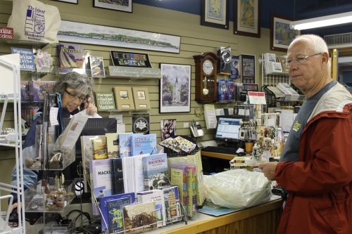 You know one of the first places we visited was The Island Bookstore, which just keeps getting better and better each year.  How do they do that?