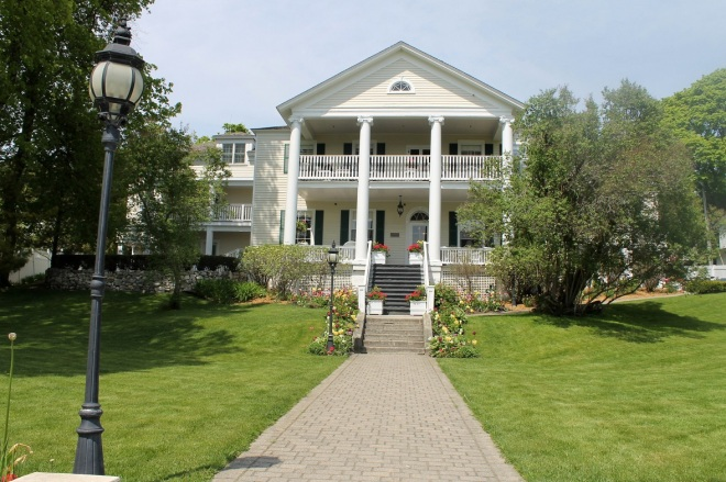 The beautiful and stately Harbor View Inn.