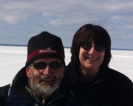 Patti and husband Bruce love Mackinac Island winters!