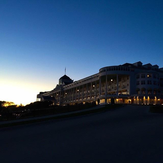 The Grand Hotel - last night of the season.  (Photo: Patrick Conlon)