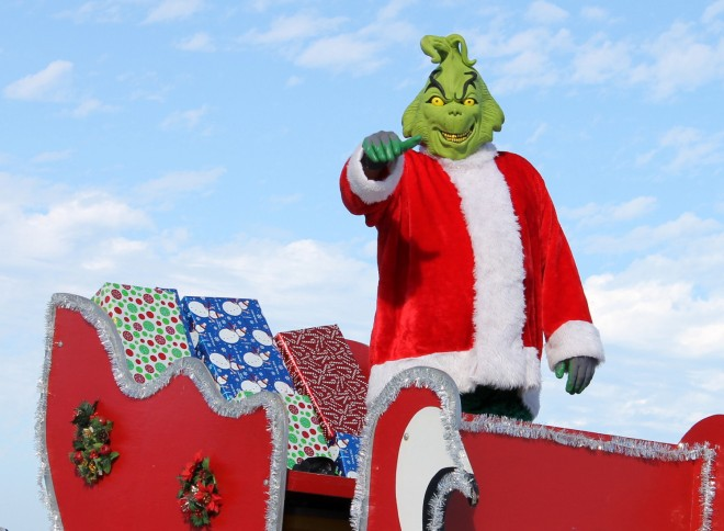 . . . the GRINCH . . .