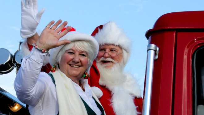 . . . Mr. and Mrs. Santa Claus!