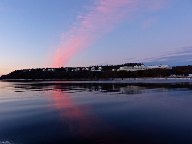 A beautiful winter skyscape by Robert McGreevy.